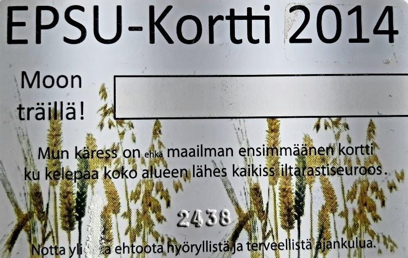 EPSU-kausikortti 2021
